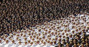 Militares turcos durante cerimônia em Ancara.   30/08/2009 REUTERS/Umit Bektas/File photo