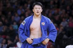 Hisayoshi Harasawa durante evento em Paris. 7/2/2016. REUTERS/Charles Platiau