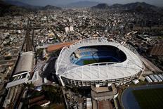 Vista aérea do Estádio Olímpico do Rio de Janeiro. 16/07/2016 REUTERS/Ueslei Marcelino