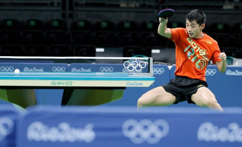 Ma Long Faces Tough Line Up In Quest For Olympic Gold