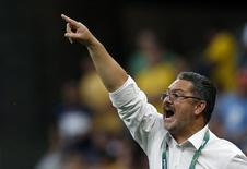 Técnico da seleção olímpica de futebol do Brasil, Rogério Micale. 4/8/2016. REUTERS/Ueslei Marcelino