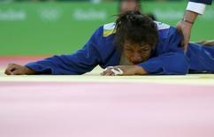 Sarah Menezes, que está fora da Olimpíada  06/08/2016 REUTERS/Toru Hanai