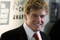 O ator Robert Redford comparece ao prêmio Chaplin em Nova York 27/04/2015 REUTERS/Eduardo Munoz