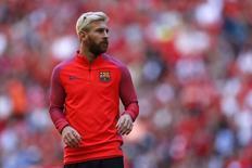 Lionel Messi, do Barcelona, durante torneio amistoso no estádio de Wembley, em Londres 06/08/2016 REUTERS/John Sibley