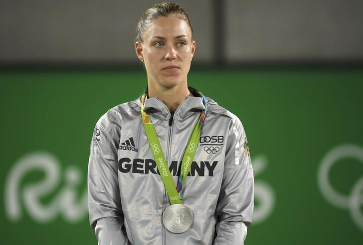 It's winning silver – not 'losing the gold' – for Kerber