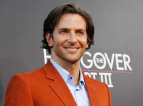 "Cast member Bradley Cooper poses at the premiere of ""The Hangover Part III"" at the Westwood Village theatre in Los Angeles, California, U.S. May 20, 2013.   REUTERS/Mario Anzuoni/File Photo"