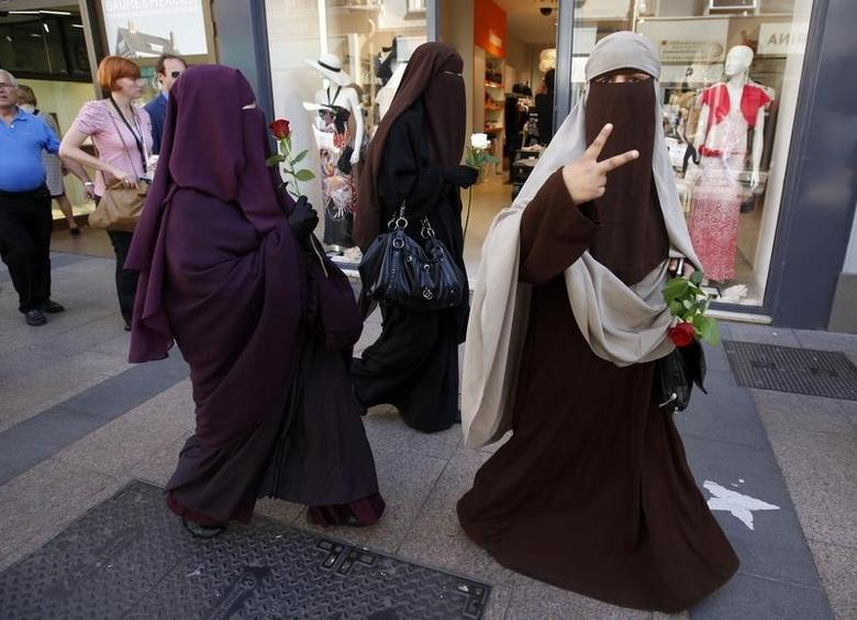 What countries banned Niqab?