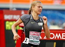 Athletics - European championships - Women's 800m qualifiaction - Amsterdam - 6/7/16 Yulia Stepanova of Russia competes. REUTERS/Michael Kooren/File Photo