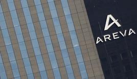 General Electric est prêt à déposer une offre ferme pour acquérir Adwen, la coentreprise dans l'éolien en mer qu'Areva détient à parité avec l'espagnol Gamesa. /Photo d'archives/REUTERS/Christian Hartmann