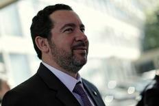 Ministro interino do Planejamento, Dyogo de Oliveira é visto após reunião com o ministro da Fazenda, Henrique Meirelles, em Brasília  07/07/2016 REUTERS/Ueslei Marcelino