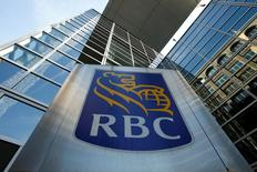 A Royal Bank of Canada (RBC) sign is seen outside of a branch in Ottawa, Ontario, Canada, May 26, 2016. REUTERS/Chris Wattie