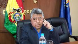 Родольфо Ильянес. Заместитель министра внутренних дел Боливии Родольфо Ильянес был в четверг избит до смерти протестующими шахтерами, которые ранее похитили чиновника, сообщило правительство страны. Около сотни человек были арестованы, а власти пообещали покарать виновных. REUTERS/Bolivian Presidency/Handout via REUTERS