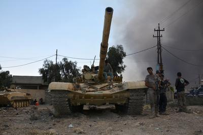 Islamic State driven from Qayyara, Iraq