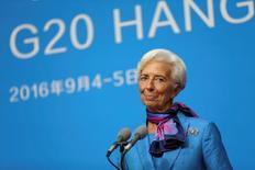 Diretora-gerente do Fundo Monetário Internacional (FMI), Christine Lagarde.   05/09/2016             REUTERS/Stringer