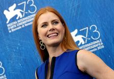 "Actress Amy Adams attends the photocall for the movie ""Arrival"" at the 73rd Venice Film Festival in Venice, Italy September 1, 2016. REUTERS/Alessandro Bianchi"