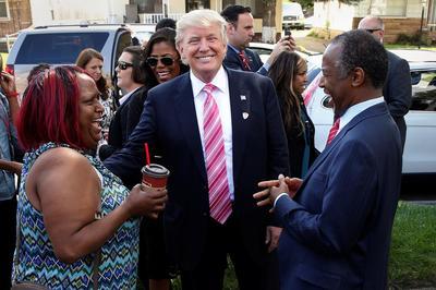 Donald Trump does Detroit