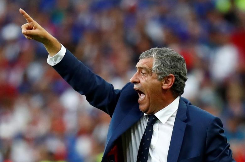 Football Soccer - Portugal v France - EURO 2016 - Final - Stade de France, Saint-Denis near Paris, France - 10/7/16Portugal head coach Fernando Santos REUTERS/Kai PfaffenbachLivepic