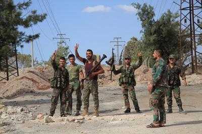 Syrian army presses on Aleppo