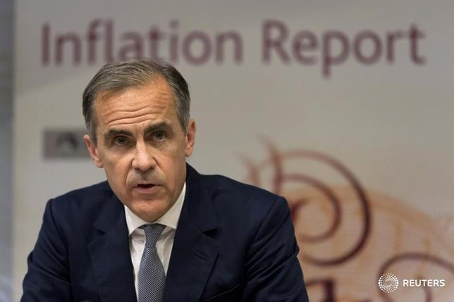 Governor of the Bank of England Mark Carney hosts a quarterly Inflation Report press conference at the Bank of England in central London, Britain August 4, 2016.  REUTERS/Justin Tallis/Pool