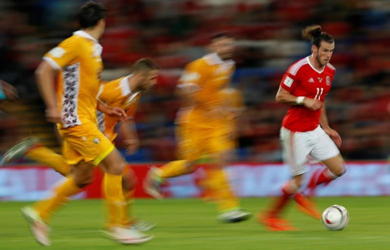Britain Football Soccer - Wales v Moldova - 2018 World Cup Qualifying European Zone - Group D - Cardiff City Stadium, Cardiff, Wales - 5/9/16Wales' Gareth Bale in actionAction Images via Reuters / John SibleyLivepic