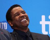 Actor Denzel Washington attends a press conference to promote the film The Magnificent  Seven at TIFF the Toronto International Film Festival in Toronto, September 8, 2016.    REUTERS/Fred Thornhill