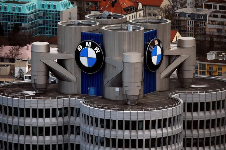 The headquarters of German luxury carmaker BMW is pictured in Munich, southern Germany, January 26, 2016.   REUTERS/Michael Dalder/Files