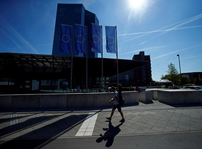 The headquarters of the European Central Bank (ECB) are pictured in Frankfurt, Germany September 8, 2016. REUTERS/Ralph Orlowski