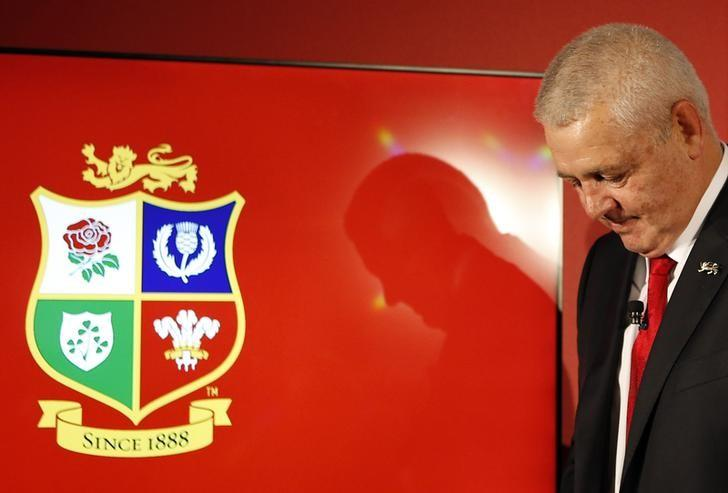 Britain Rugby Union - Announcement of the British & Irish Lions Head Coach for The Lions 2017 Tour of New Zealand - Standard Life House, Edinburgh, Scotland - 7/9/16British & Irish Lions head coach Warren Gatland during the press conferenceAction Images via Reuters / Russell CheyneLivepic
