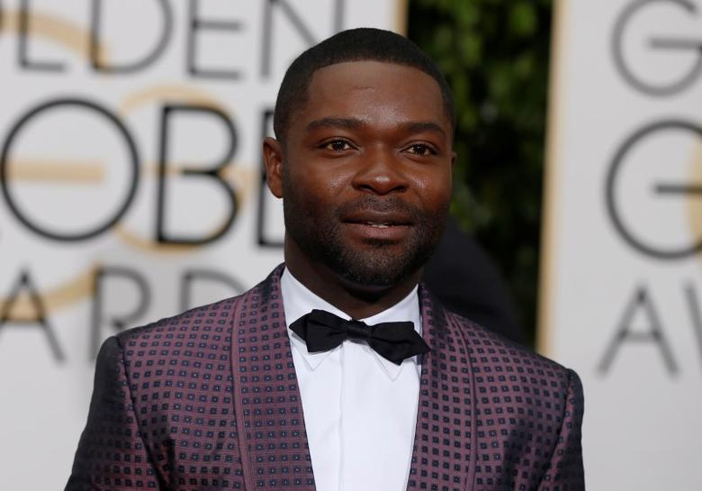 Actor David Oyelowo arrives at the 73rd Golden Globe Awards in Beverly Hills, California January 10, 2016.  REUTERS/Mario Anzuoni/File Photo