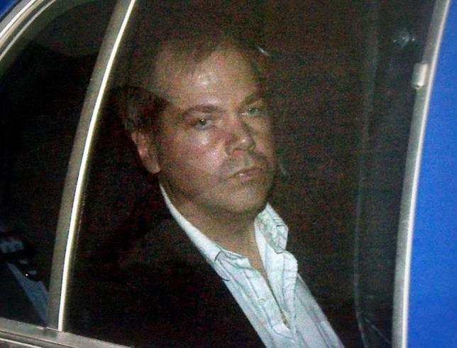 John Hinckley Jr. arrives at the E. Barrett Prettyman U.S. District Court in Washington D.C. November 19, 2003.  REUTERS/Brendan Smialowski/File Photo