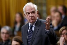 Canada's Immigration Minister John McCallum speaks during Question Period in the House of Commons on Parliament Hill in Ottawa, Canada, January 26, 2016. REUTERS/Chris Wattie