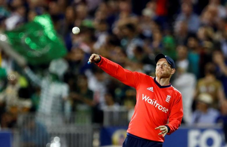 Britain Cricket - England v Pakistan - NatWest International T20 - Emirates Old Trafford - 7/9/16England's Eoin Morgan in actionAction Images via Reuters / Lee Smith