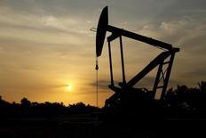 L'Organisation des pays exportateurs de pétrole (Opep) estime que la production totale des pays ne faisant pas partie du cartel va augmenter en 2017, une prévision qui induit pour l'année prochaine un surplus plus important que précédemment anticipé./Photo d'archives/REUTERS/Isaac Urrutia