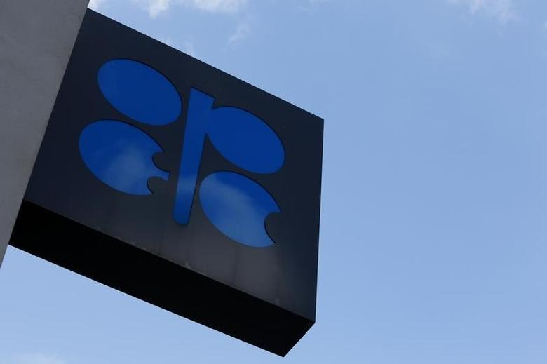 The logo of the Organization of the Petroleum Exporting Countries (OPEC) is pictured at its headquarters in Vienna, Austria, March 21, 2016. REUTERS/Leonhard Foeger