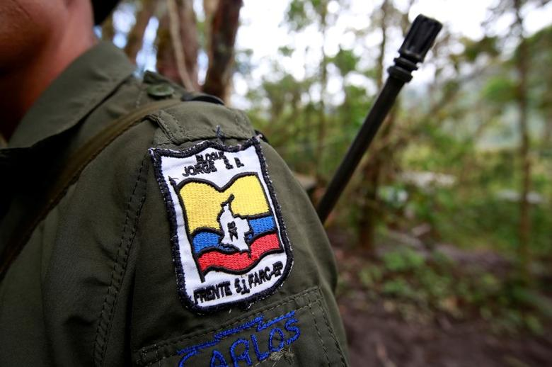 Carlos, a member of the 51st Front of the Revolutionary Armed Forces of Colombia (FARC), is seen at a camp in Cordillera Oriental, Colombia, August 16, 2016. Picture taken August 16, 2016.  REUTERS/John Vizcaino