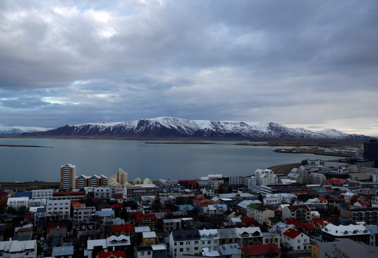 A general view shows the city of Reykjavik seen from Hallgrimskirkja church February 13, 2013.           REUTERS/Stoyan Nenov
