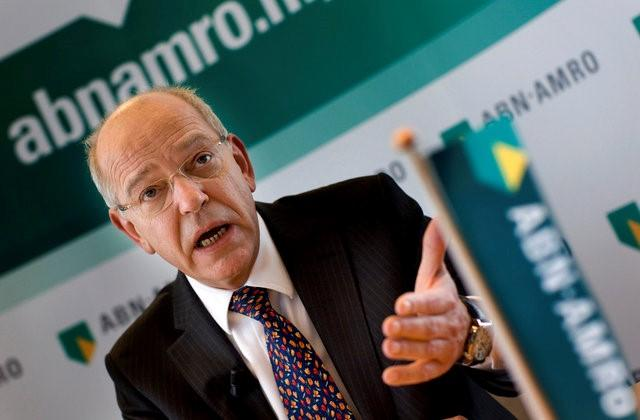 Gerrit Zalm, chief executive of Dutch state-owned bank ABN AMRO, speaks during a news conference to present the company's 2010 annual results in Amsterdam March 4, 2011. REUTERS/Jerry Lampen/File Photo