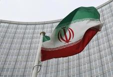 Bandeira iraniana vista em Viena, Áustria.     15/01/2016   REUTERS/Leonhard Foeger/Files