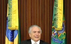Presidente Michel Temer durante reunião ministerial em Brasília 31/08/2016 REUTERS/Adriano Machado