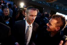 Newly elected UEFA President Aleksander Ceferin of Slovenia is congratulated after the election during the UEFA Extraordinary Congress in Athens, Greece September 14, 2016. REUTERS/Alkis Konstantinidis