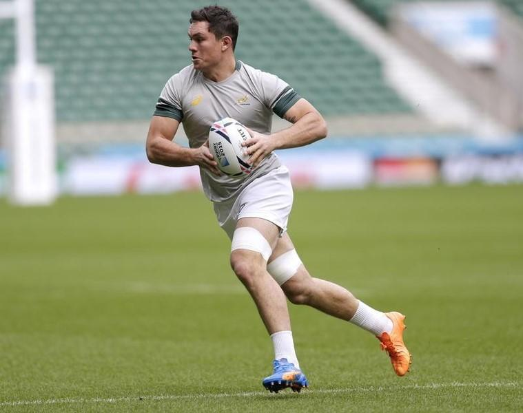 Rugby Union - South Africa Captain's Run - Twickenham Stadium - 23/10/15South Africa's Francois Louw during trainingAction Images via Reuters / Henry BrowneLivepic - RTS5S76