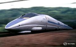 Поезд Nozomi в Японии на архивной фотографии. Правительство Японии привлечет около $3,8 миллиарда от приватизации Kyushu Railway Co в ходе крупнейшего в стране в этом году IPO, следует из официального раскрытия информации железнодорожным оператором. STR New / Reuters
