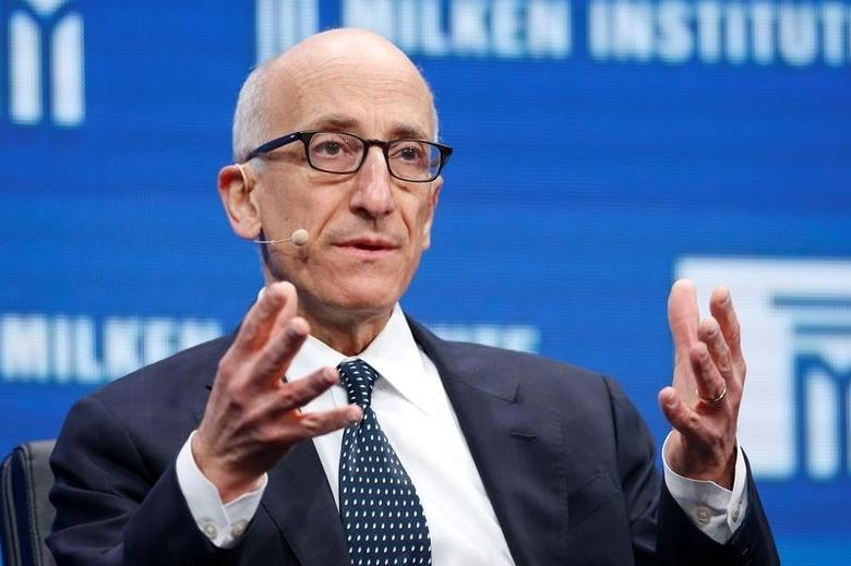 Timothy Massad, Chairman of the U.S. Commodity Futures Trading Commission, speaks at the Milken Institute Global Conference in Beverly Hills, California, U.S., May 3, 2016. REUTERS/Lucy Nicholson