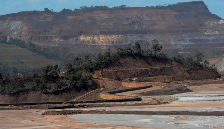 A view of the Samarco mine, owned by Vale SA and BHP Billiton Ltd, in Mariana, Brazil, April 12, 2016. REUTERS/Washington Alves