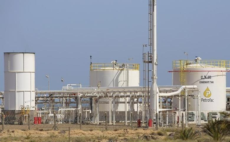 A general view of the facilities at the Chergui gas field of British oilfield services company Petrofac, on the island of Kerkennah, Tunisia, April 17, 2016. REUTERS/Mohamed Amine Ben Aziza