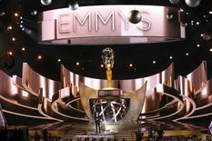 Apresentador Jimmy Kimmel durante 68ª edição dos prêmios Emmy, em Los Angeles. 18/09/2016  REUTERS/Mike Blake