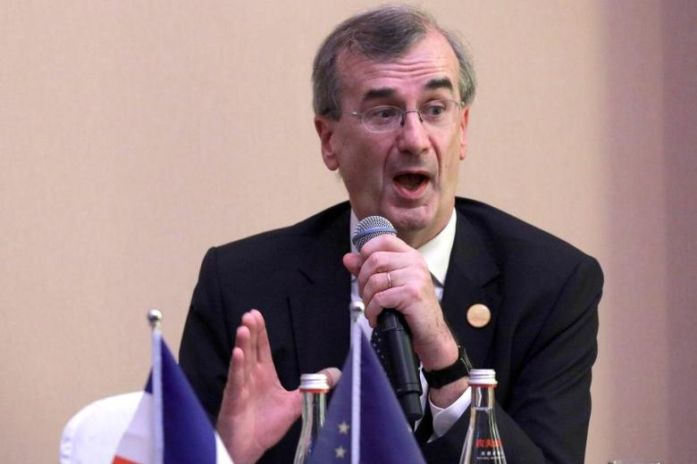 Governor of the Bank of France Francois Villeroy de Galhau attends a news conference held at the close of the G20 Finance Ministers and Central Bank Governors meeting in Chengdu in Southwestern China's Sichuan province, Sunday, July 24, 2016.  REUTERS/Ng Han Guan