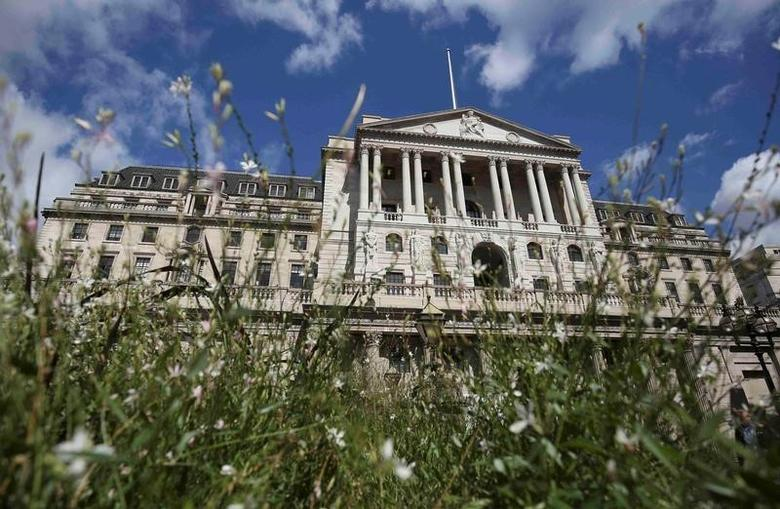 The Bank of England is seen in the City of London in London, Britain August 4, 2016.   REUTERS/Neil Hall/File Photo