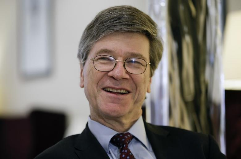 U.S. economist Jeffrey Sachs speaks during an interview with Reuters in Rome, Italy, March 15, 2016. Picture taken March 15, 2016. REUTERS/Max Rossi