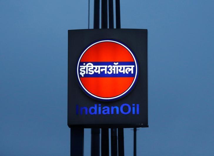 A logo of Indian Oil is picture outside a fuel station in New Delhi, India August 29, 2016. REUTERS/Adnan Abidi